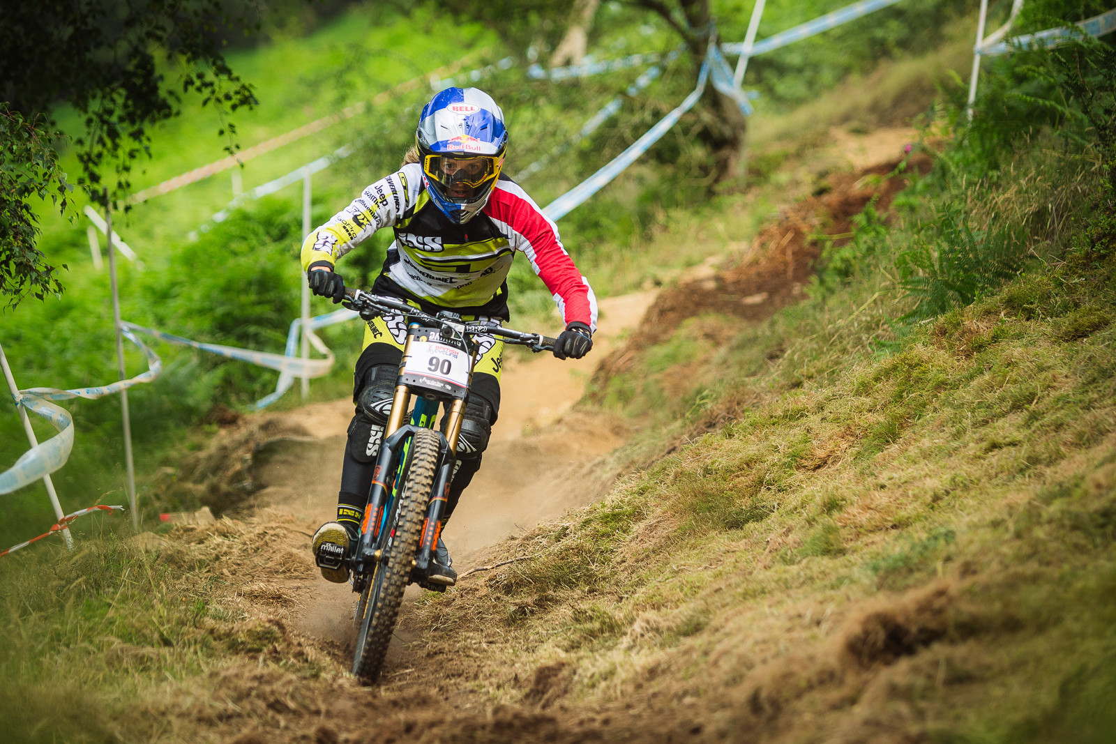 Rachel Atherton, 1st Place - 2015 British National Champs Downhill - 2015 British National Champs Downhill Photos - Mountain Biking Pictures - Vital MTB