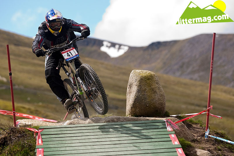 Nathan Rennie - 2009 UCI World Cup Fort William - Day 2 - Mountain Biking Pictures - Vital MTB