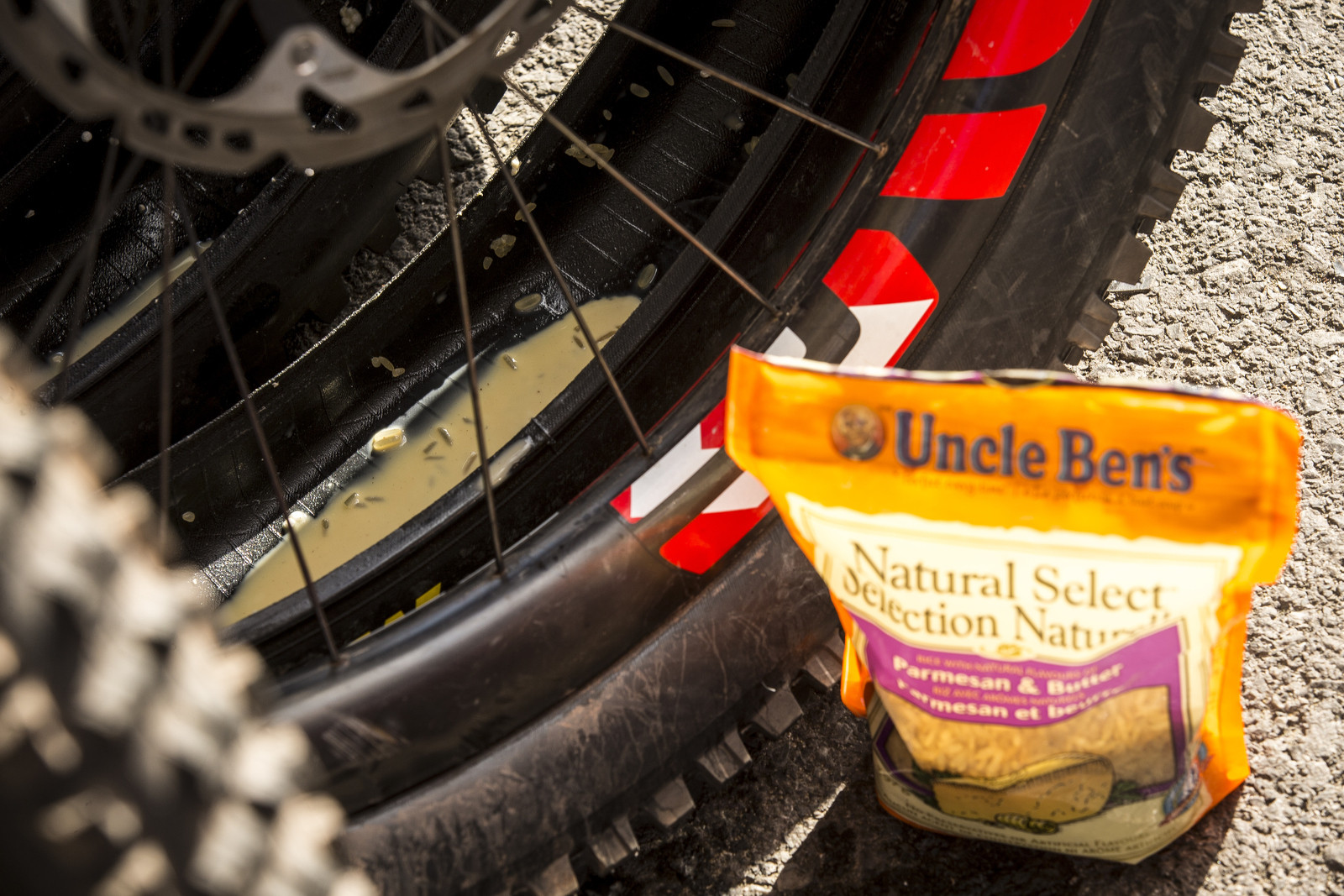 Rice Used in Santa Cruz Syndicate Tubeless Sealant - PIT BITS - World Cup Windham - Mountain Biking Pictures - Vital MTB