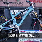 WINNING BIKE: Richie Rude's Yeti SB6c