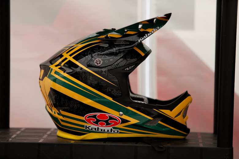Greg Minnaar's World Champs Helmet