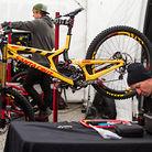 Greg Minnaar's Santa Cruz V10cc for World Champs