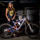 WINNING BIKE: Rachel Atherton's GT Fury for World Champs