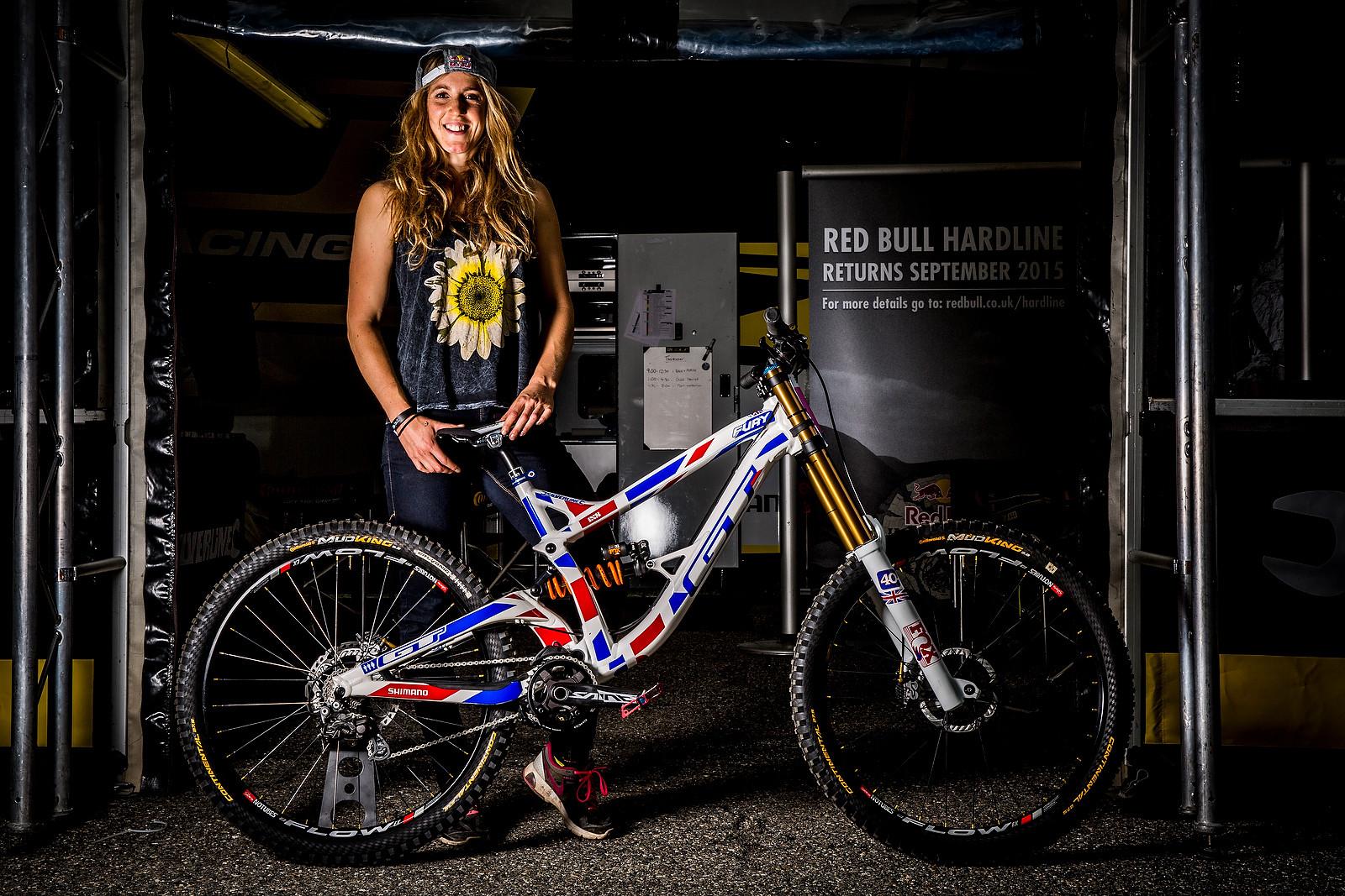 Winning Bike Rachel Atherton S Gt Fury For World Champs