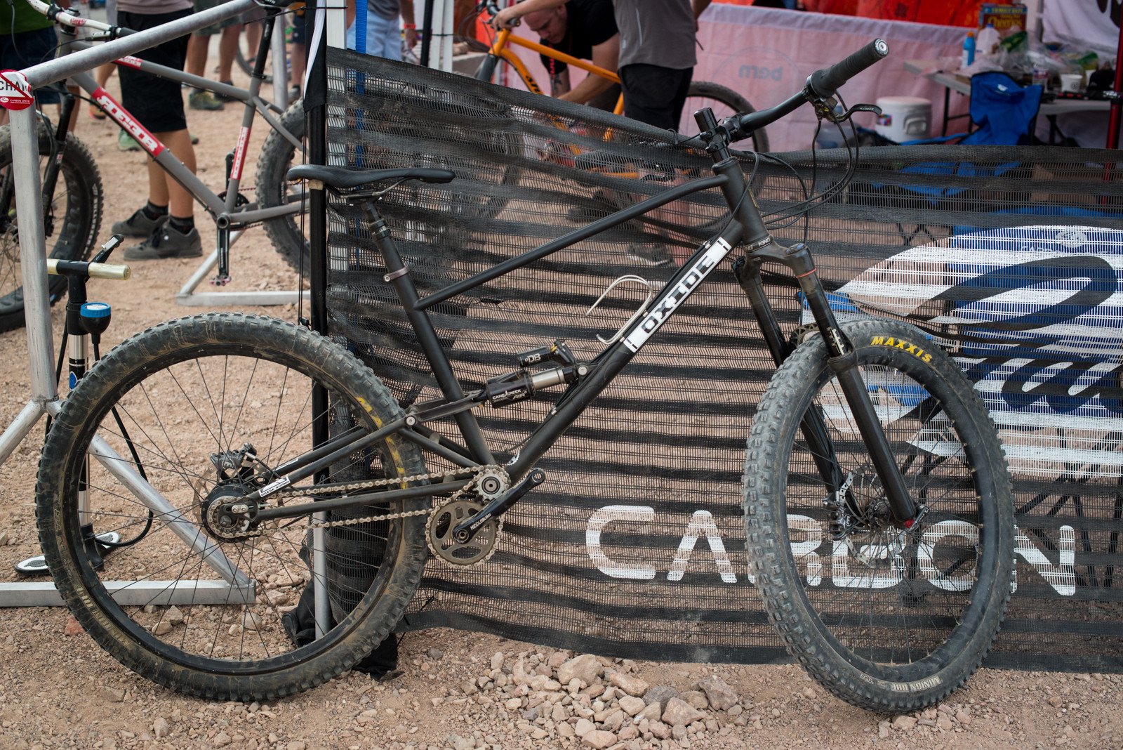 Oxide Longbow - 2016 Trail and Enduro Bikes at Interbike - Mountain Biking Pictures - Vital MTB