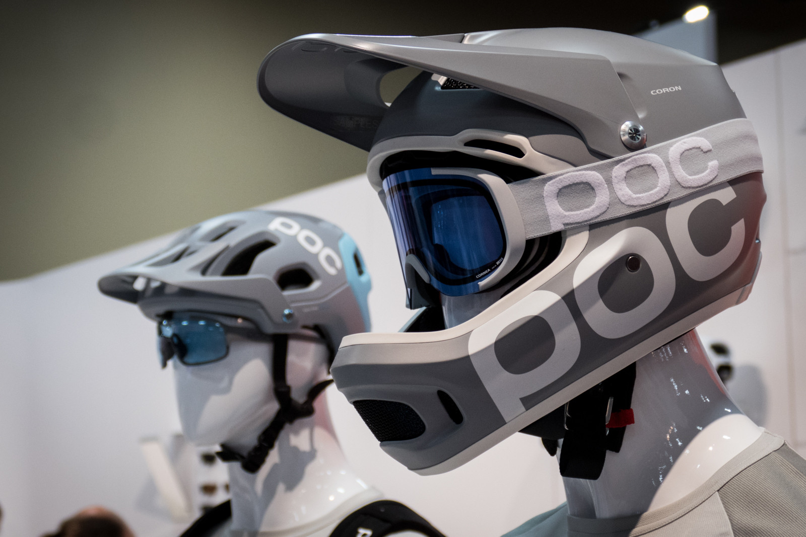 POC Coron Full Face Helmet - 2016 Protective Gear and Apparel at Interbike - Mountain Biking Pictures - Vital MTB