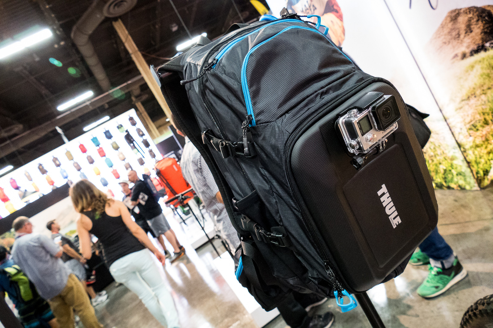 Thule Legend GoPro Backpack - 2016 Protective Gear and Apparel at Interbike - Mountain Biking Pictures - Vital MTB