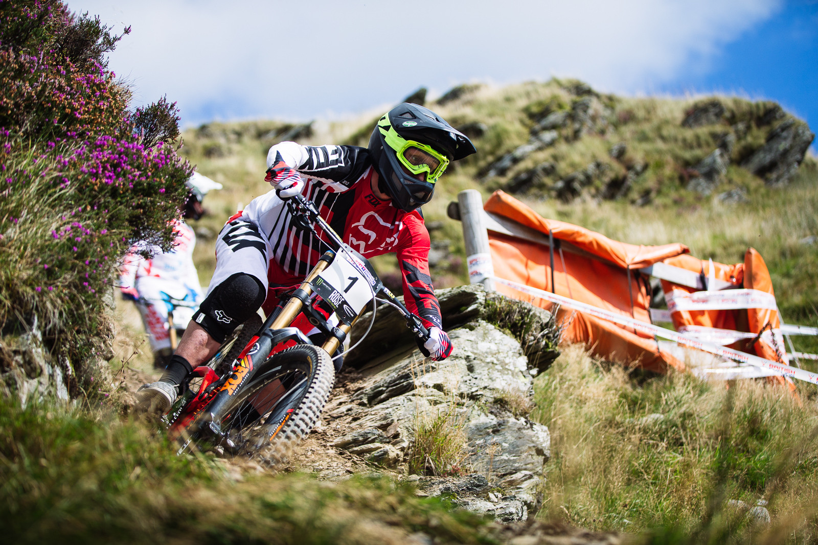 Marc Beaumont, 3rd Place, 2015 British Downhill Series Finals - 2015 British Downhill Series Finals - Mountain Biking Pictures - Vital MTB