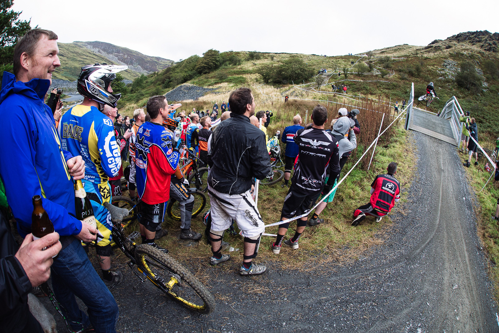 Wil Longden, BDS Legends Race - 2015 British Downhill Series Finals - Mountain Biking Pictures - Vital MTB