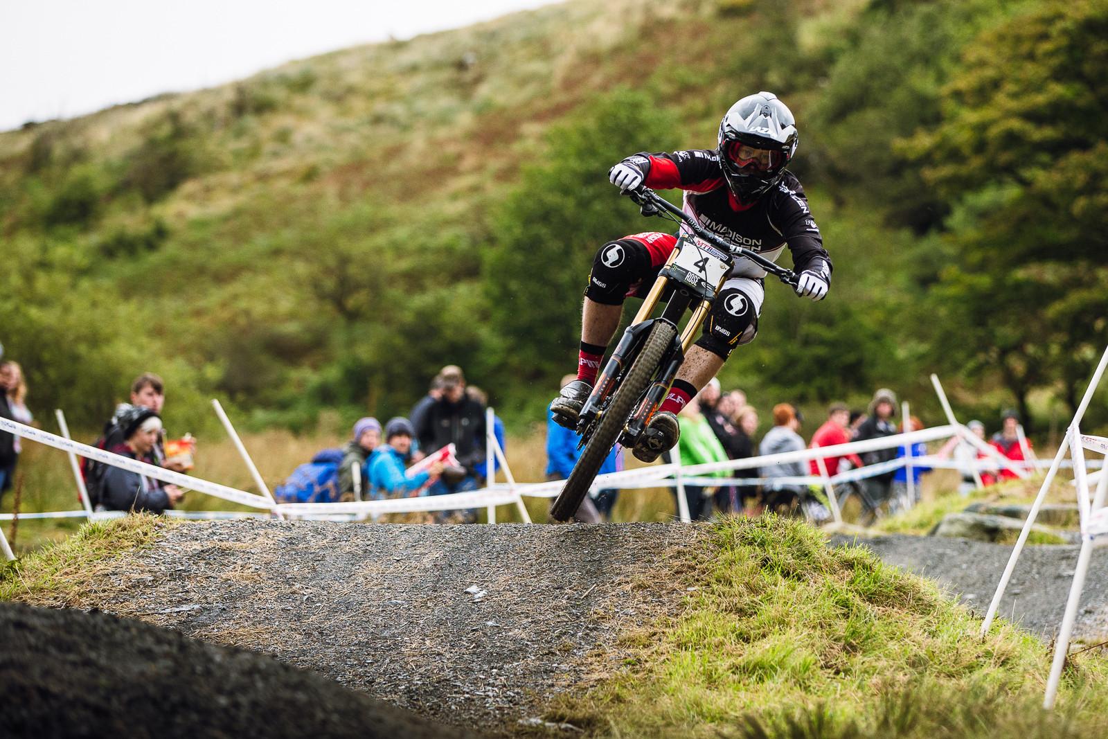 Matt Simmonds, Winner of the 2015 British Downhill Series Finals, Antur Stiniog - 2015 British Downhill Series Finals - Mountain Biking Pictures - Vital MTB