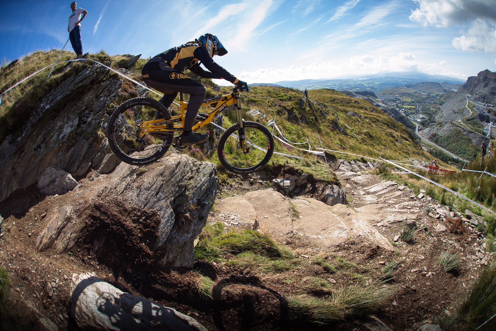Jacob Dickson, 2nd Place Junior Men - 2015 British Downhill Series Finals - Mountain Biking Pictures - Vital MTB