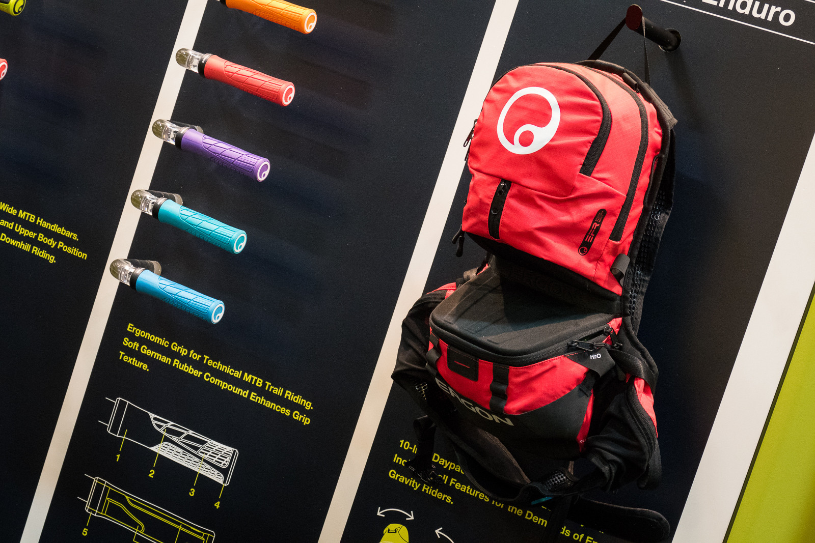 More Ergon Packs - 2016 Protective Gear and Apparel at Interbike - Mountain Biking Pictures - Vital MTB