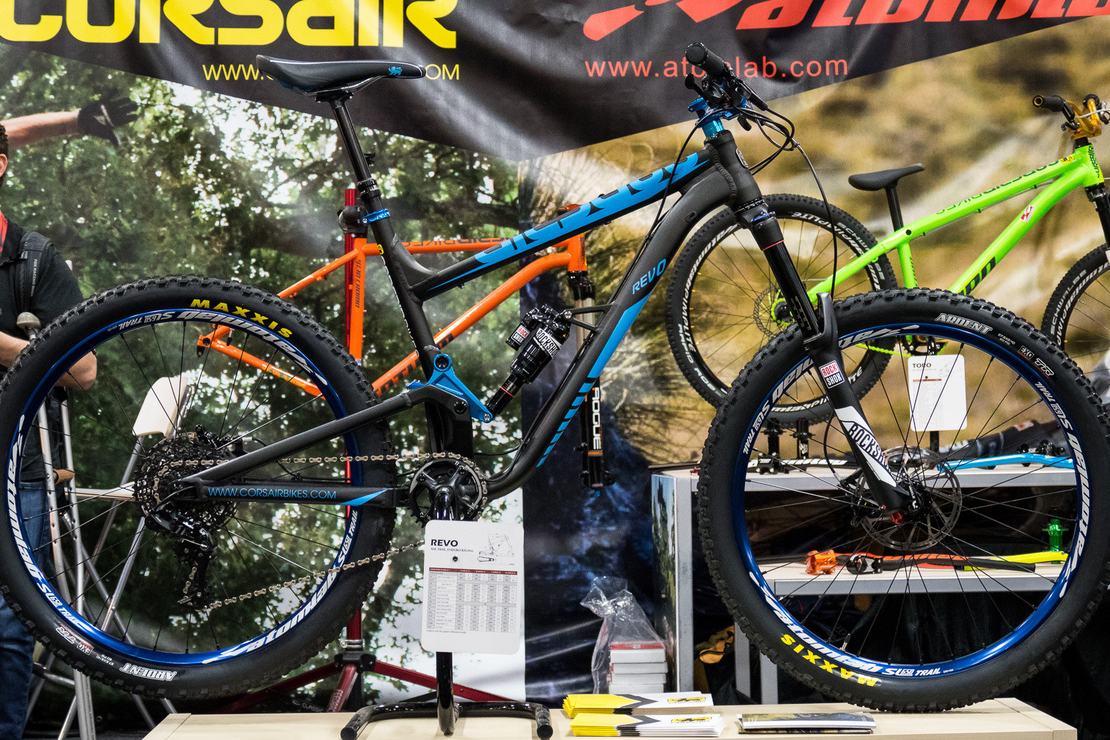 2016 Corsair Revo - 2016 Trail and Enduro Bikes at Interbike - Mountain Biking Pictures - Vital MTB