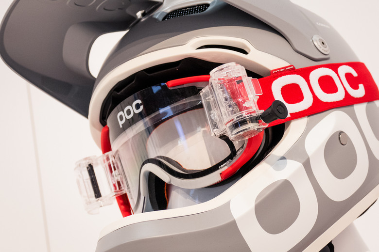c01b2ca234 POC Cortex Goggles with Roll-Offs - 2016 Protective Gear and Apparel at  Interbike - Mountain Biking Pictures - Vital MTB