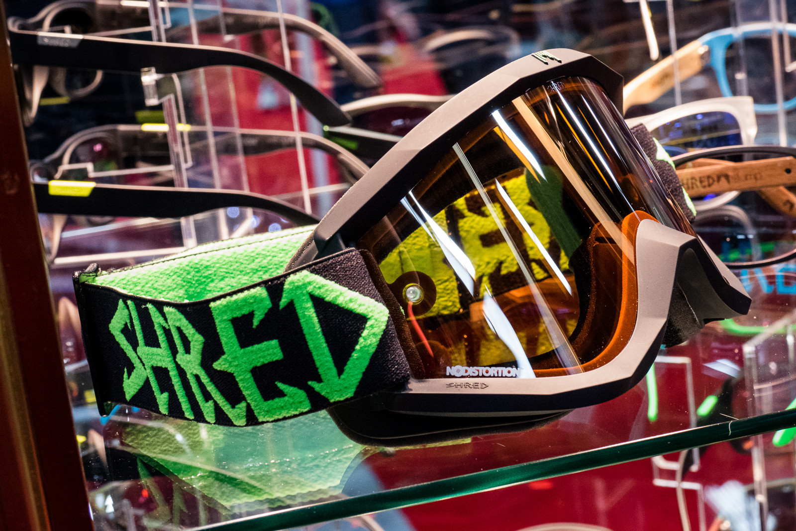 Shred Soaza Goggles and Provocator Sunglasses - 2016 Protective Gear and Apparel at Interbike - Mountain Biking Pictures - Vital MTB