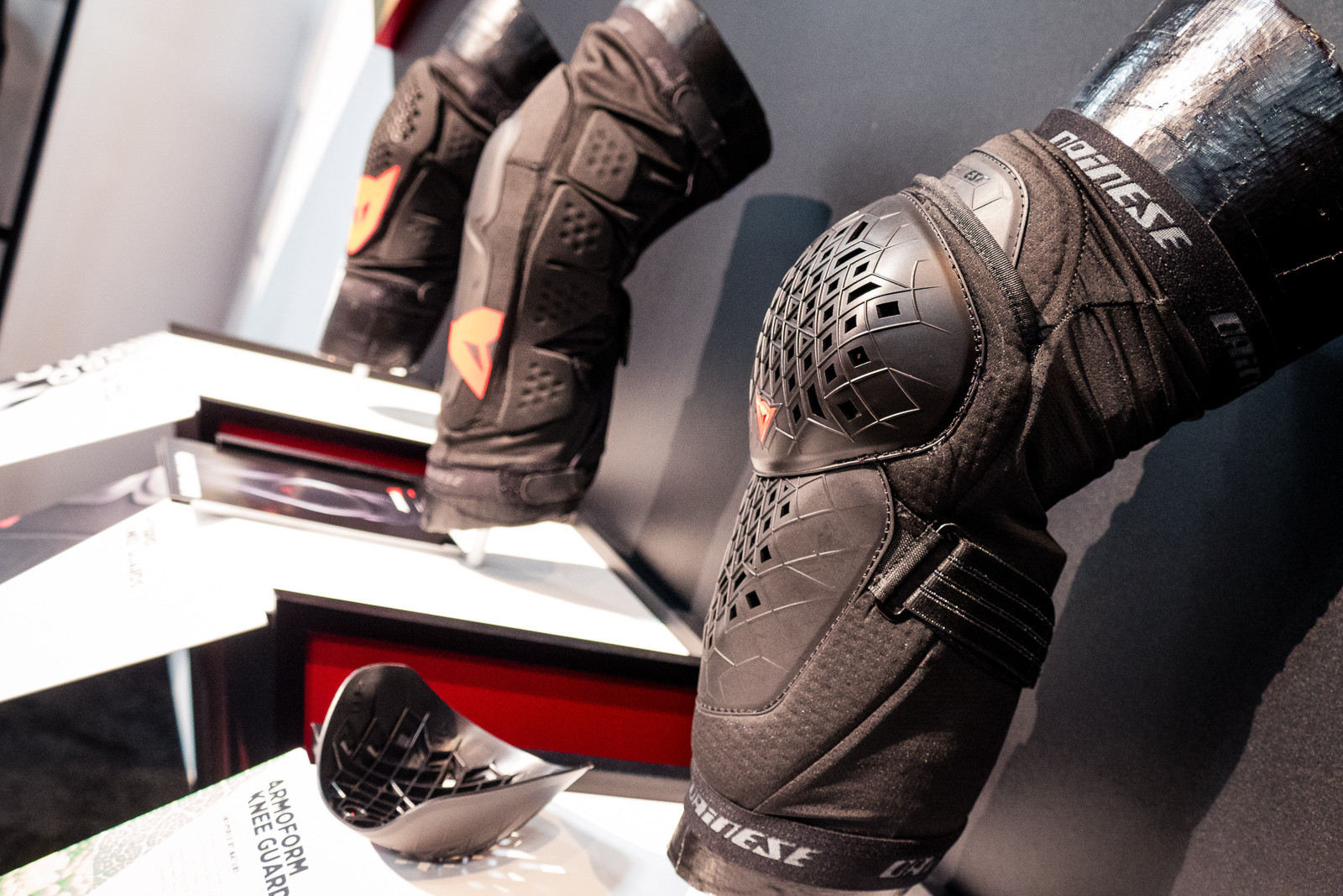 Dainese ArmorForm Knee Guards - 2016 Protective Gear and Apparel at Interbike - Mountain Biking Pictures - Vital MTB