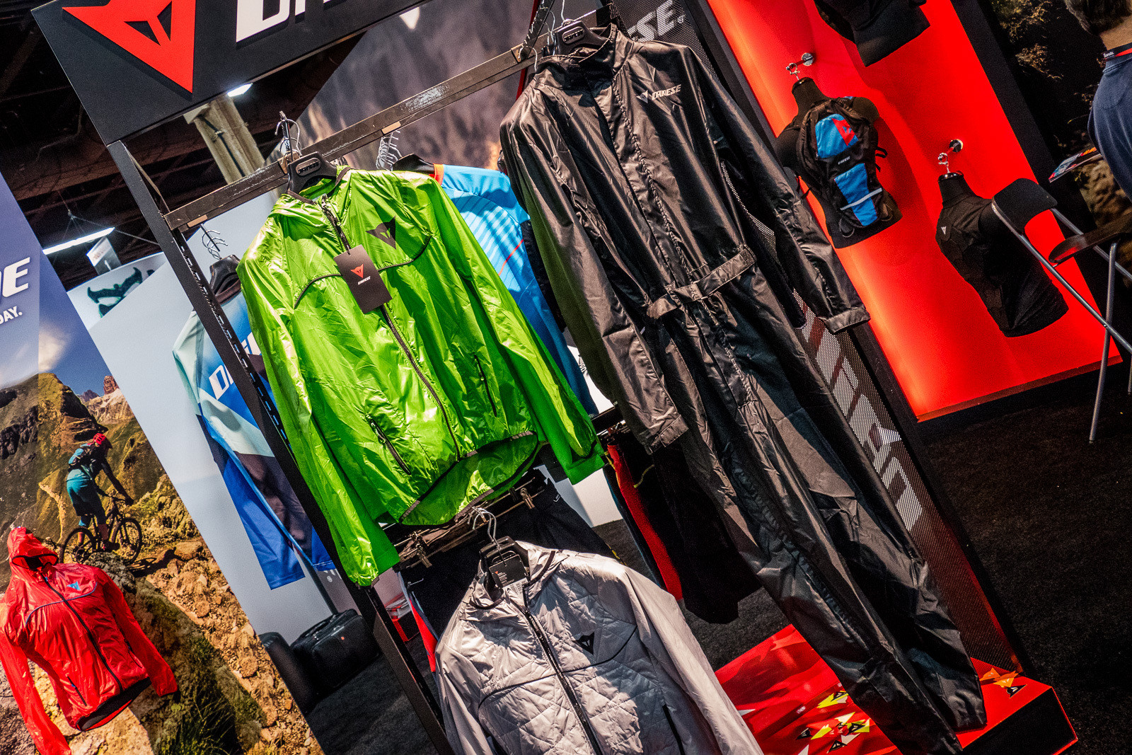 Dainese Rain Gear - 2016 Protective Gear and Apparel at Interbike - Mountain Biking Pictures - Vital MTB