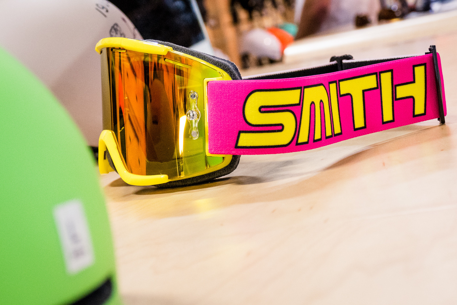 Retro Smith Squad MTB Goggles - 2016 Protective Gear and Apparel at Interbike - Mountain Biking Pictures - Vital MTB