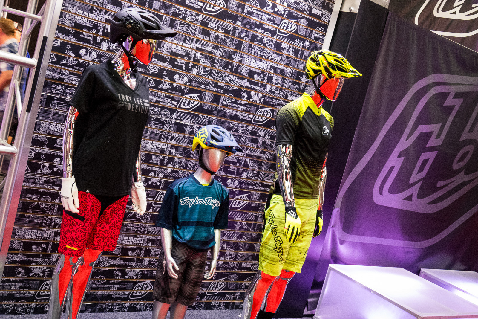 TLD for the Whole Family - 2016 Protective Gear and Apparel at Interbike - Mountain Biking Pictures - Vital MTB