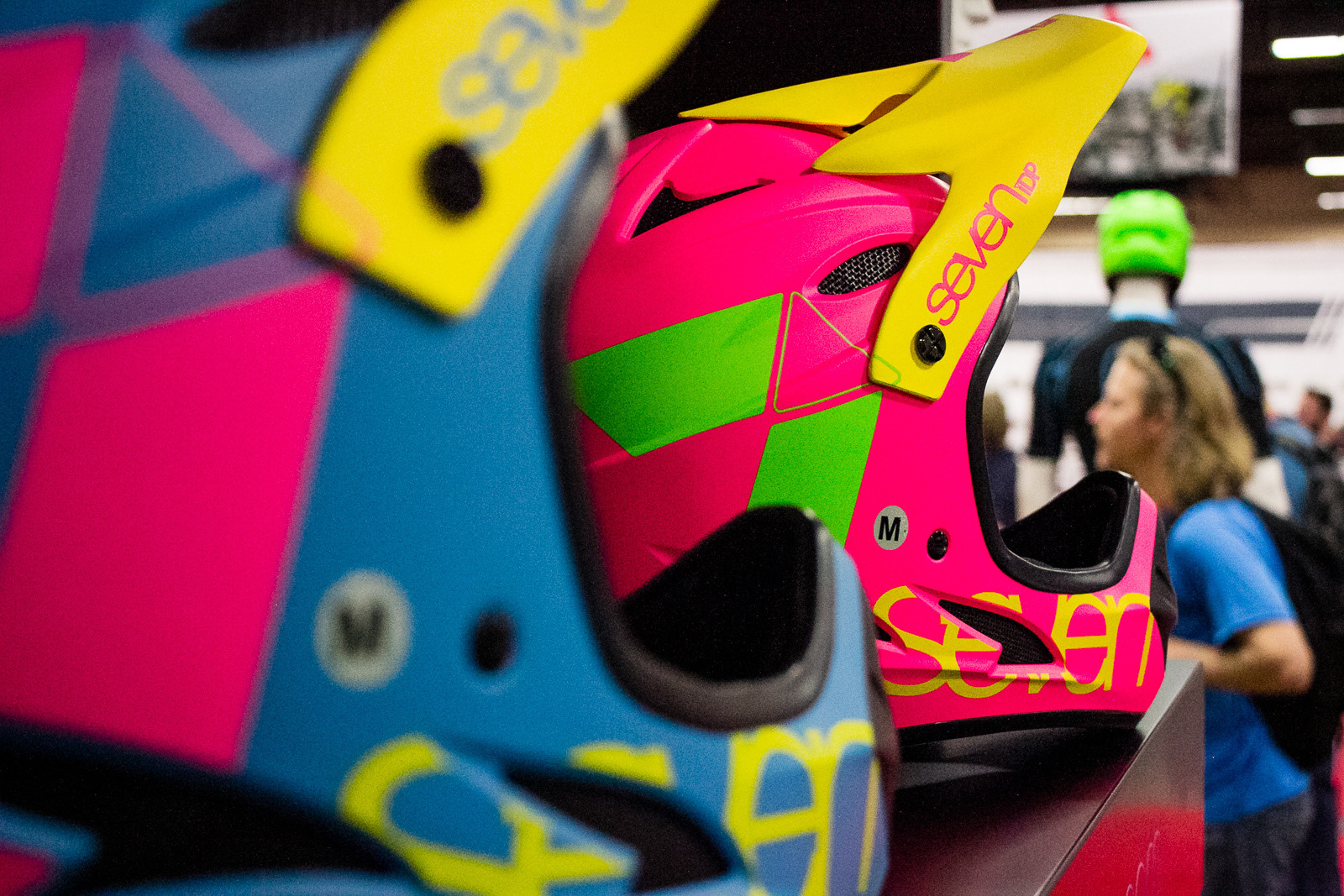 2016 7 Protection Helmet Colors - 2016 Women's Bikes and Gear at Interbike - Mountain Biking Pictures - Vital MTB