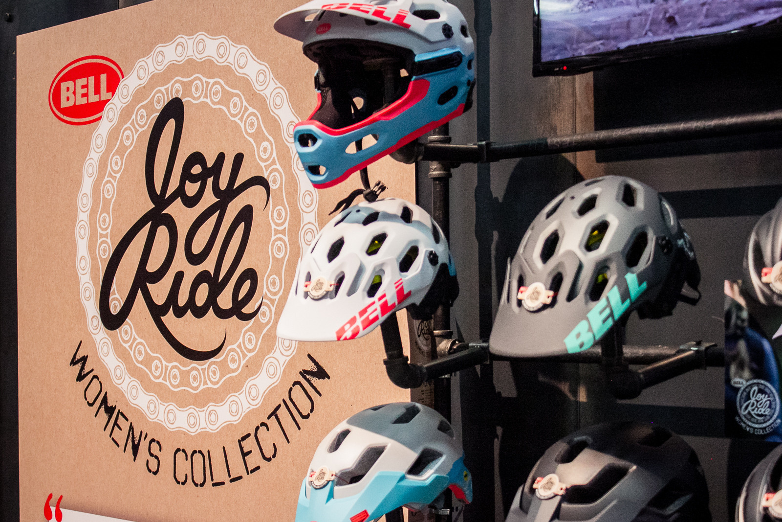 Bell Helmets Joy Ride Women's Collection - 2016 Women's Bikes and Gear at Interbike - Mountain Biking Pictures - Vital MTB