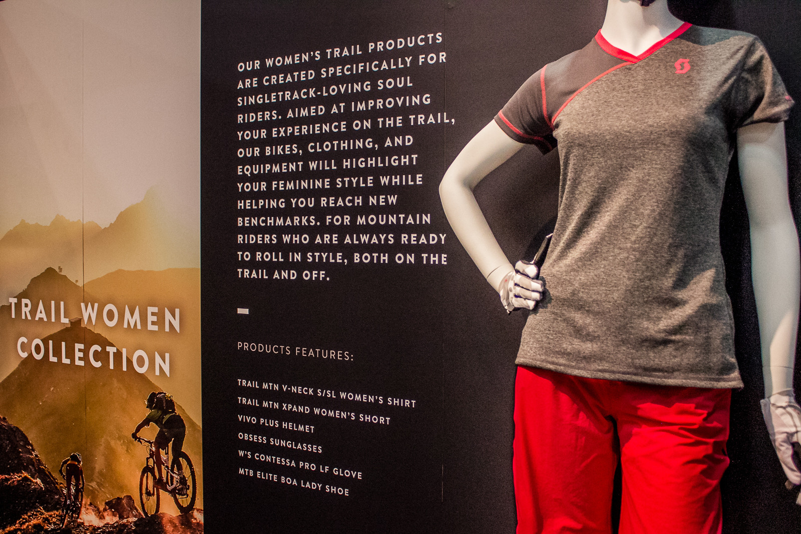 2016 Scott Women's Apparel - 2016 Women's Bikes and Gear at Interbike - Mountain Biking Pictures - Vital MTB