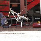 Honda DH Bike at Keystone Yesterday