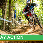 Race Day Action from the Cairns World Cup DH