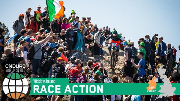 Race Action from the Enduro World Series, Wicklow, Ireland