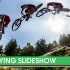Qualifying Action from the Fort William World Cup Downhill