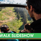 World Cup DH is Back! Lenzerheide Track Walk Slideshow
