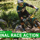 Final Day Race Action from Enduro World Series, La Thuile, Italy
