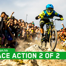 The Enduro World Series Wraps Up with a Bang - Finale Ligure Day 2 of 2 Action