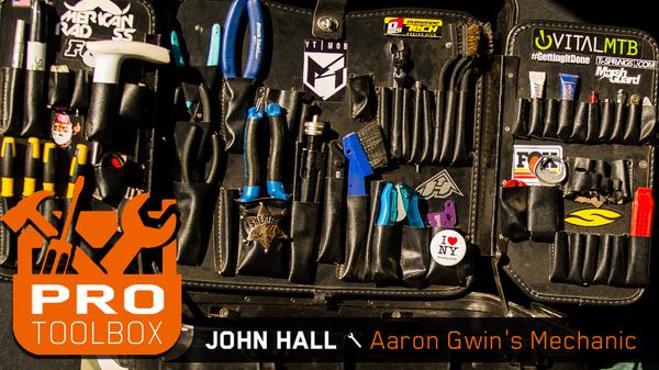 Pro Toolbox Check - John Hall, Aaron Gwin's Mechanic