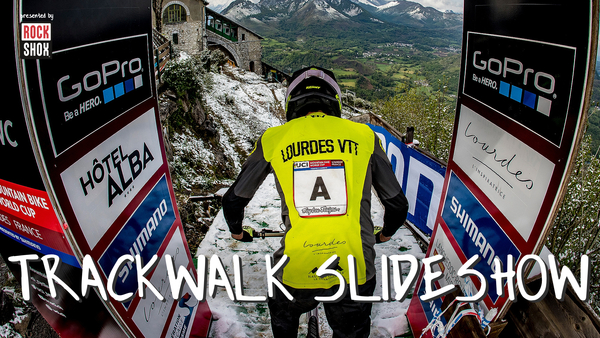 SLIDESHOW - Lourdes World Cup DH Track Walk