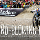 MIND-BLOWING DH - Andorra World Cup Race Action