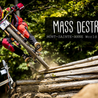 MASS DESTRUCTION - Mont-Sainte-Anne World Cup Qualifying Action