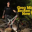 Greg Minnaar Speaks About His Broken Arm and New V10