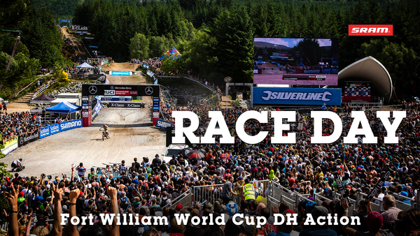 RACE DAY ACTION - Fort William World Cup DH