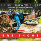 MERE INCHES - Andorra World Cup Downhill Qualifying Slideshow