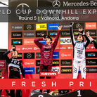 THE FRESH PRINCE - Andorra World Cup Downhill Slideshow