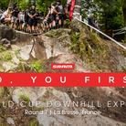 No, YOU First - La Bresse World Cup DH Track Walk
