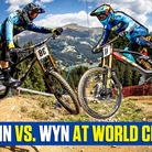 MARTIN MAES VS. WYN MASTERS at World Champs