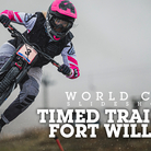 Fort William DH Action - Timed Runs