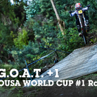THE GOAT+1 - Lousa World Cup DH Slideshow Race 1