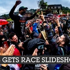 2021 Les Gets World Cup Downhill Race Slideshow