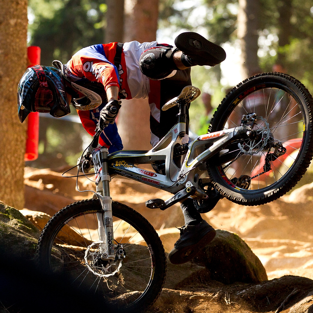 Downhill Wallpaper: 2011 UCI World Cup, Val Di Sole Downhill Training