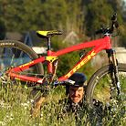 Cam McCaul's Prototype Trek Slopestyle Bike