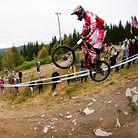 SENDING IT! Hafjell, Norway World Cup DH Qualifying Action