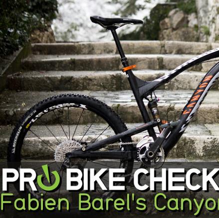 Pro Bike Check: Fabien Barel's Canyon Strive AL 9.0 Race